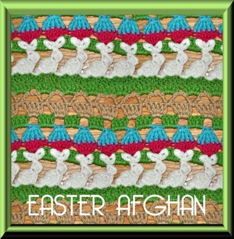 Easter Afghan stitch 7